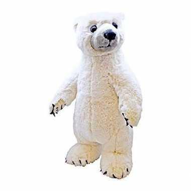 Afgeprijsde pluche ijsbeer knuffels 50 cm
