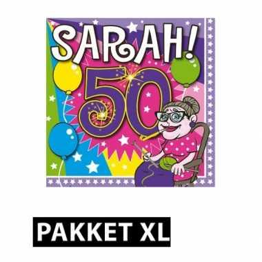 Afgeprijsde sarah verjaardag feestpakket xl