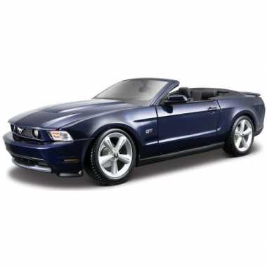 Afgeprijsde schaalmodel ford mustang cabrio 2010