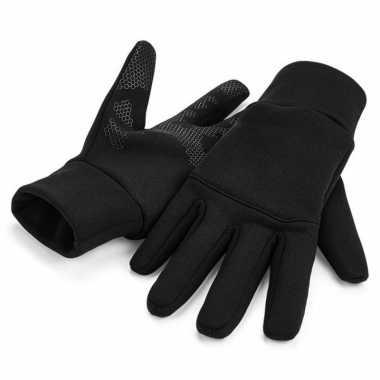 Afgeprijsde smartphone sport handschoenen volwassenen