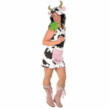 Afgeprijsde verkleedjurk koe voor dames