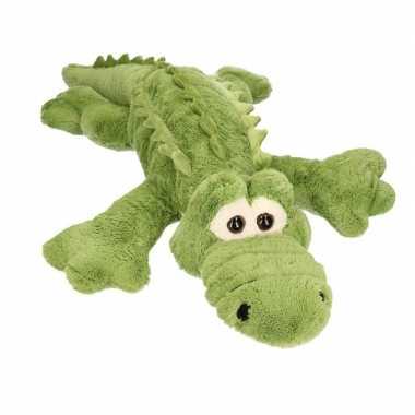 Afgeprijsde xxl pluche krokodil knuffeldier 100 cm
