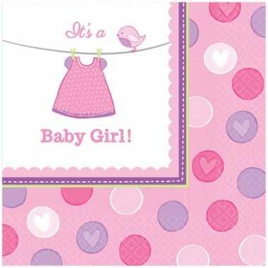 Babyshower servetten its a baby girl