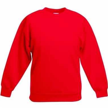 Basis rode truien/sweaters meisjeskleding