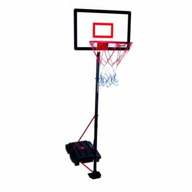 Basketbal netten met verstelbare standaard 205 cm