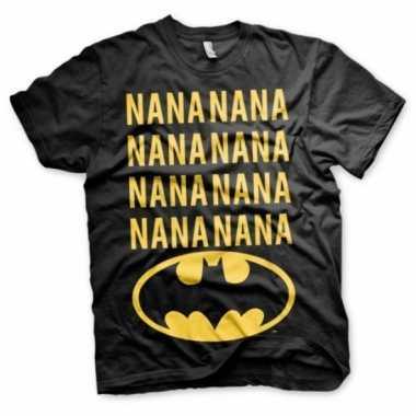Batman shirt zwart