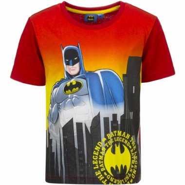 Batman t-shirt rode mouw