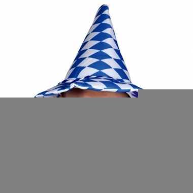 Bayern blauw witte hoed