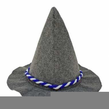 Bayernhoed met gevlochten touw