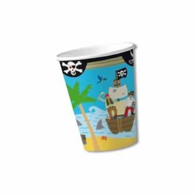 Bekers piraten eiland 0,2 liter