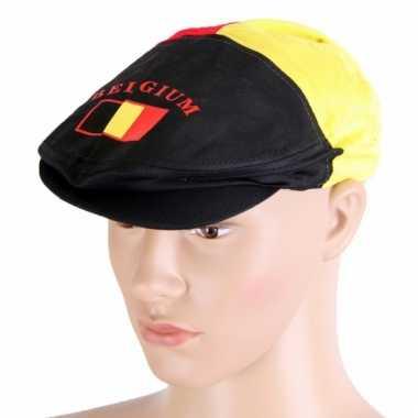Belgie flat cap