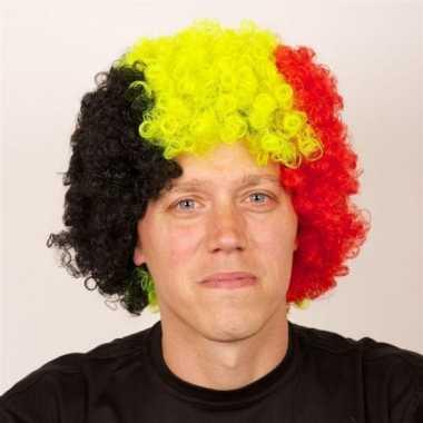 Belgie supporters pruik