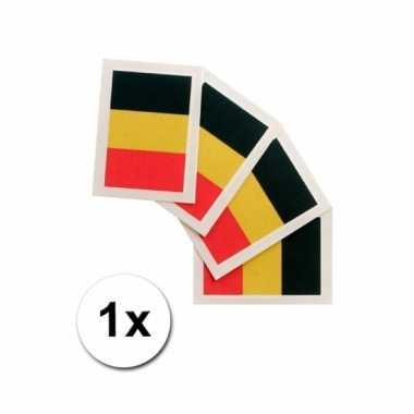Belgische supporters tattoo