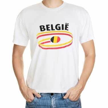 Belgische vlaggen t-shirts voor heren