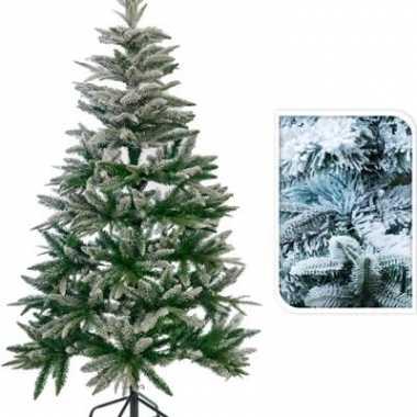Besneeuwde kerstboom 150 cm