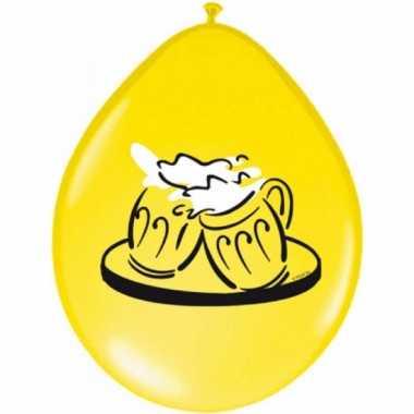 Bier ballon 8 stuks
