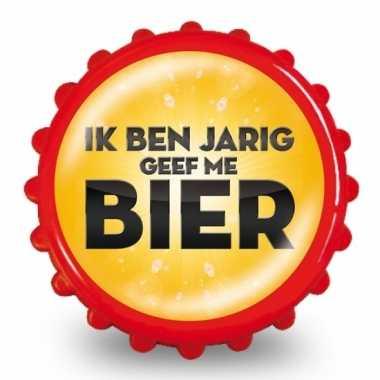 Bierdop opener geef me bier