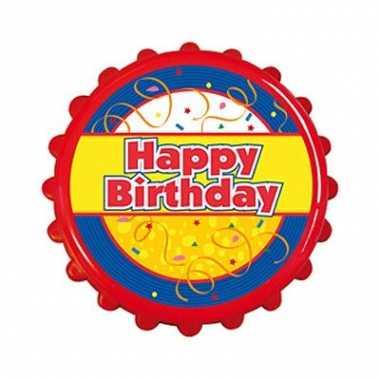 Bierdop opener happy birthday