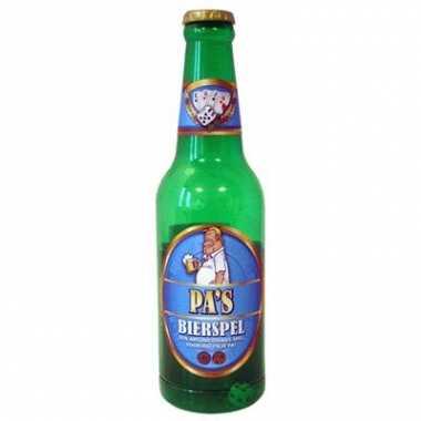 Bierflesje met pa s bierspel