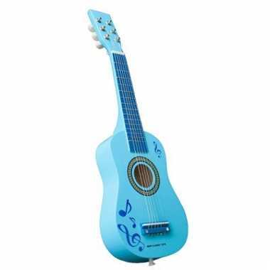 Blauw egitaren voor kinderen