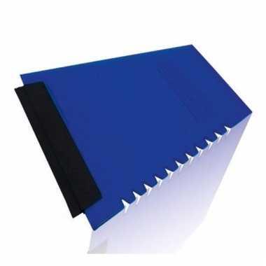 Blauw ijskrabbertje12 x 11 cm