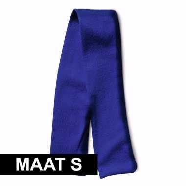 Blauw shawltje voor knuffels maat s
