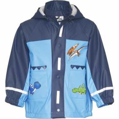 Blauwe dino regenjas voor jongens