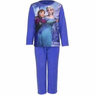 Blauwe kinder pyjama van frozen