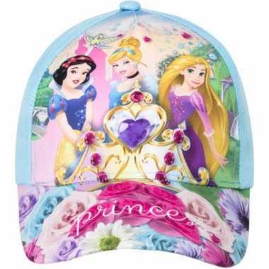 Blauwe kinderpet van disney princess