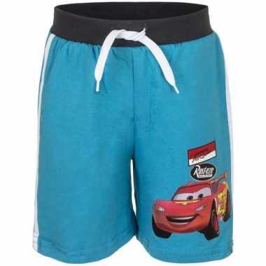 Blauwe korte broek cars