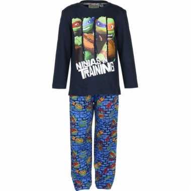 Blauwe ninja turtles pyjama
