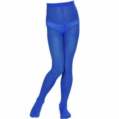 Blauwe panty voor meisjes 40 den