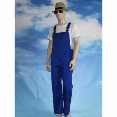Blauwe tuinbroek voor kinderen