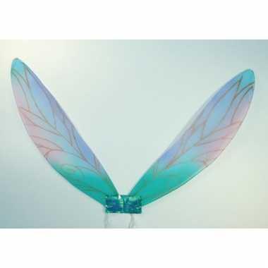Blauwe verkleed vleugels voor kids