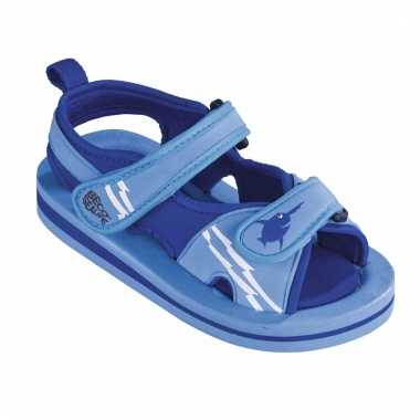 Blauwe watersandalen / waterschoenen voor jongens
