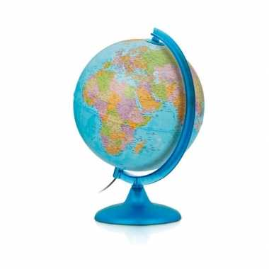 Blauwe wereldbol voor jongens