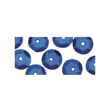 Blauwkleurige pailletten 500x