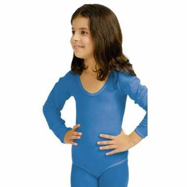 Bodystocking blauw voor kinderen