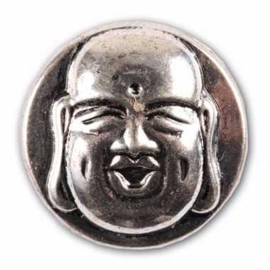 Boeddha chunk van metaal 1,8 cm