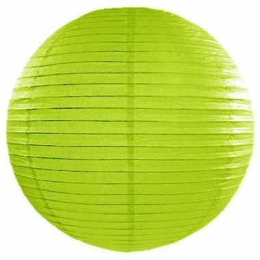Bol lampion groen 50 cm