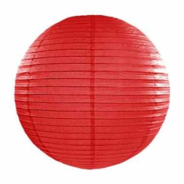 Bol lampion rood 35 cm