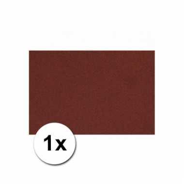 Bordeaux rood knutsel karton a4
