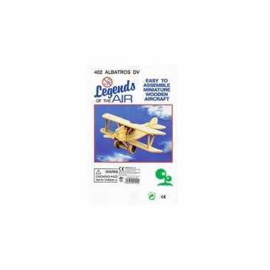 Bouwmodel vliegtuig albatros 402