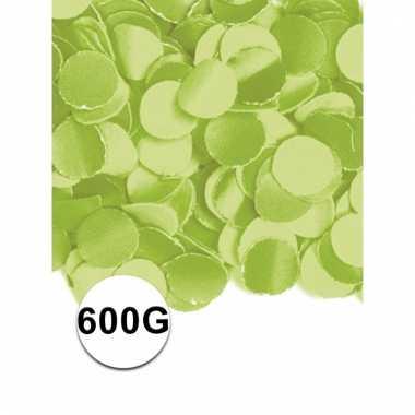 Brandvertragende confetti lime 600 gram