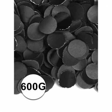 Brandvertragende confetti zwart 600 gram