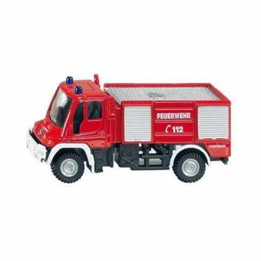 Brandweerwagen unimog siku 1068