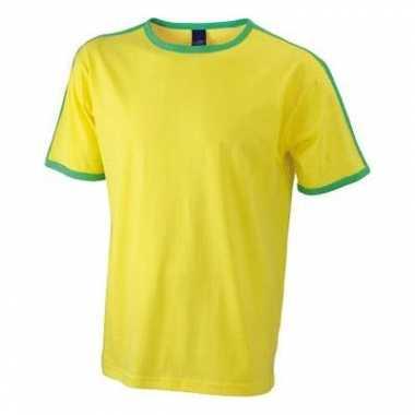 Braziliaanse kleuren shirt