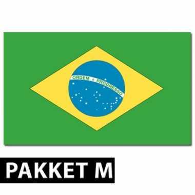 Brazilie decoratie pakket