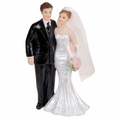 Bruidspaar beeldje 11 cm