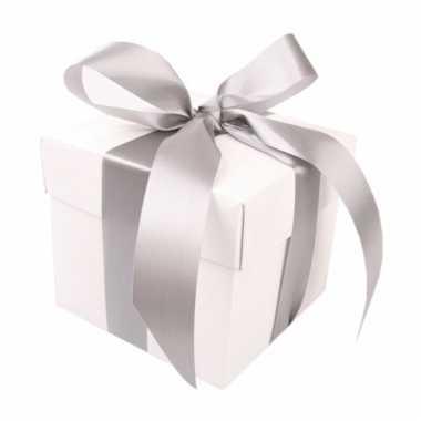 Bruiloft geschenk doosje 10 cm